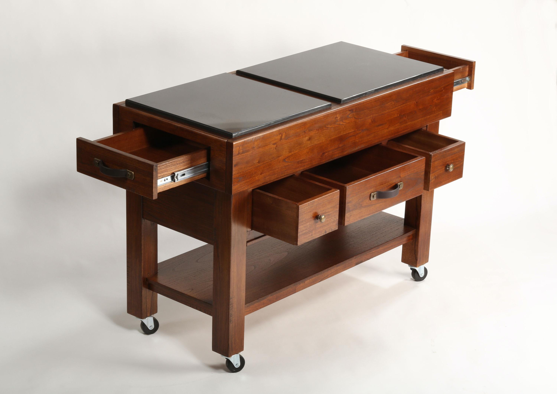 hillsdale furniture outback kitchen island 4321-855 - kettle river