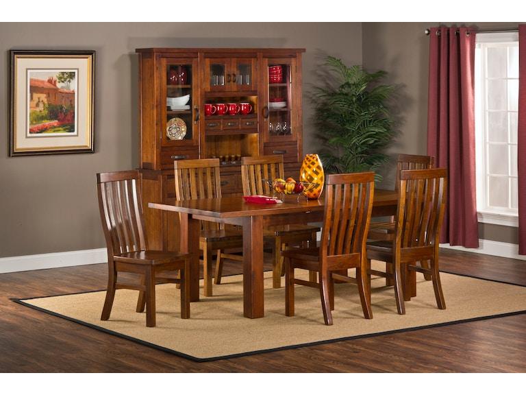 Hillsdale Furniture Outback 7 Piece Dining Set 4321DTBCR7