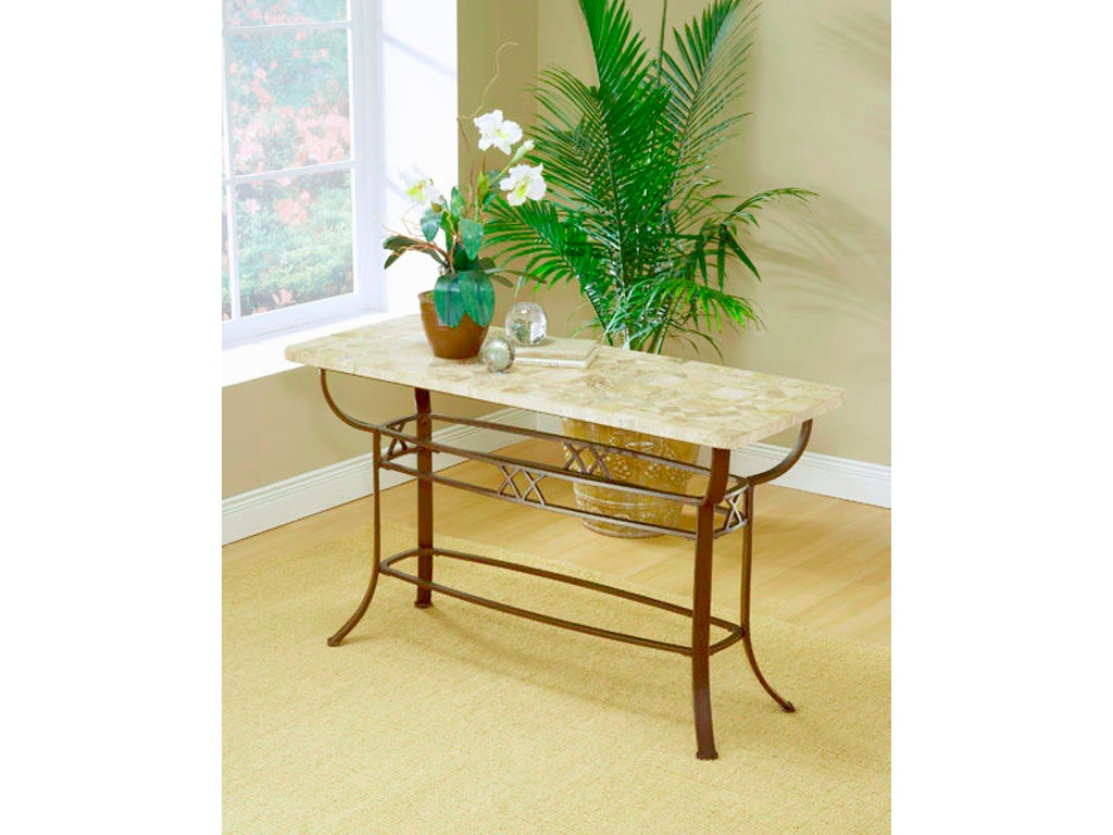 Amazing Brookside Fossil Sofa Table Base Hil4815884 Spiritservingveterans Wood Chair Design Ideas Spiritservingveteransorg