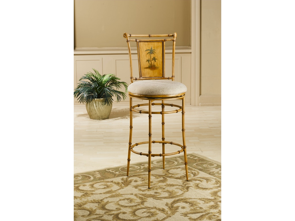 Hillsdale Furniture Bar And Game Room West Palm Swivel Counter Stool 4330 824 Zing Casual