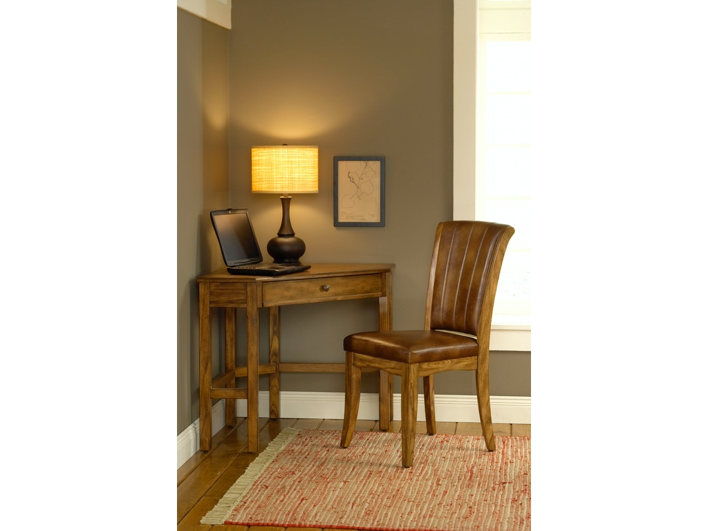Hillsdale furniture home office solano desk medium oak for Furniture kingdom