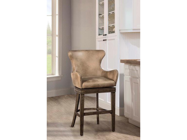 Amazing Hillsdale Furniture Bar And Game Room Caydena Swivel Counter Creativecarmelina Interior Chair Design Creativecarmelinacom