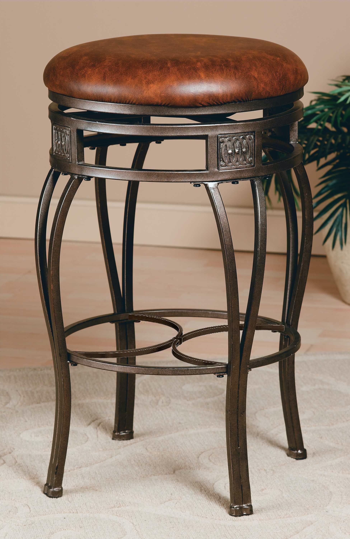 backless swivel bar stools. Hillsdale Furniture Montello Backless Swivel Bar Stool 4361-831 Stools O