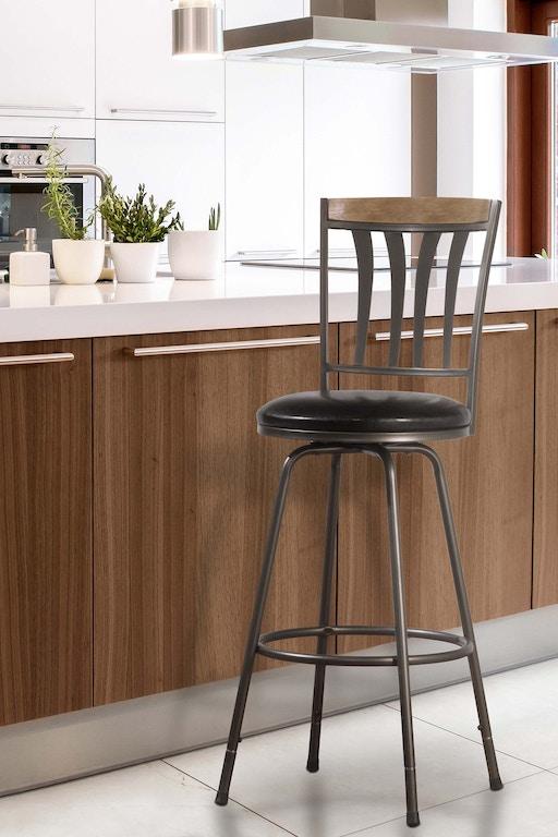 Pleasant Hillsdale Furniture Bar And Game Room Darlington Adjustable Machost Co Dining Chair Design Ideas Machostcouk