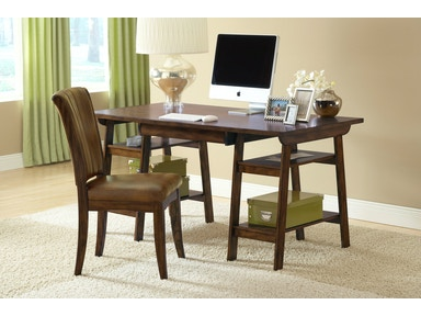 Hillsdale Furniture Parkglen Desk and Chair - Cherry 4379PD