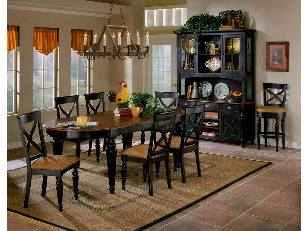 Hillsdale Furniture Dining Room Northern Heights 7 Piece Dining Set 4439dtbc7 Indian River