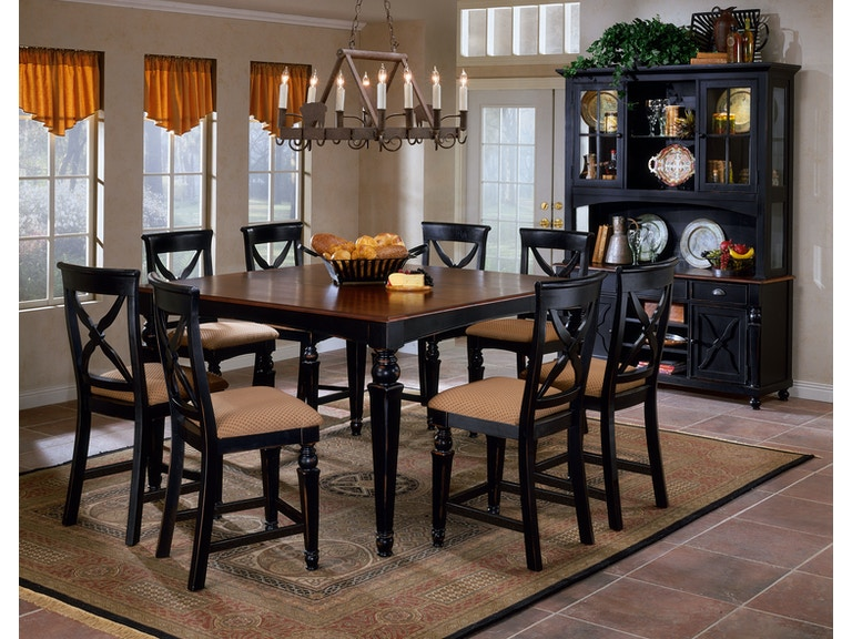 Hilale Furniture Bar And Room Northern Heights Counter Height Dining Table 4439 835w At Weiss Company