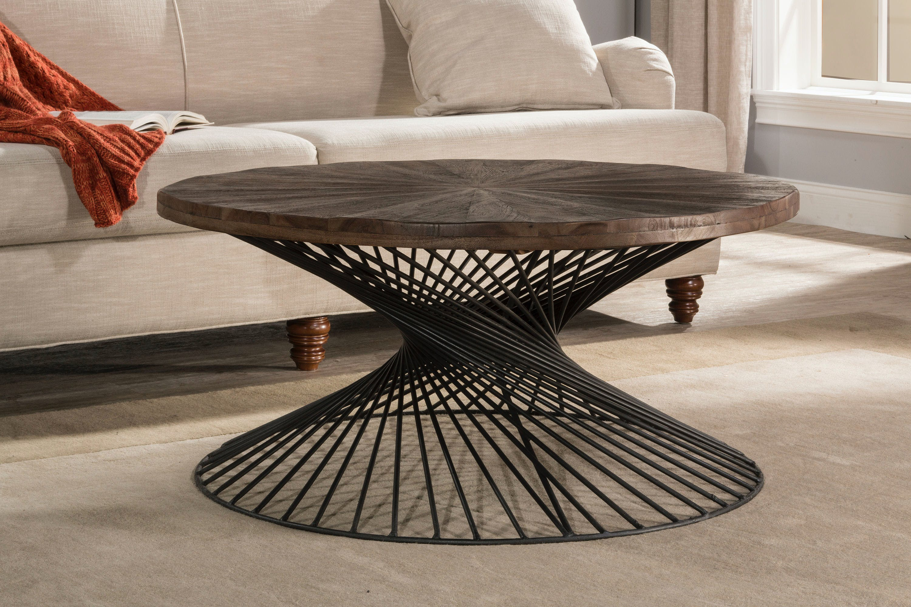 Picture of: Hillsdale Furniture Living Room Kanister Round Coffee Table 4471 880 Turner Furniture Company