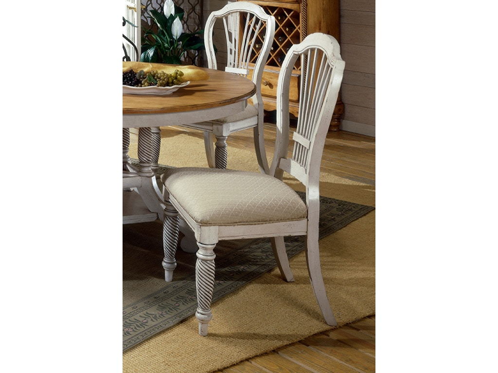 Wilshire side chair set of 2 hil4508802 for Walter e smithe dining room sets