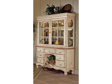 Hillsdale Furniture Wilshire Buffet and Hutch 4508BH