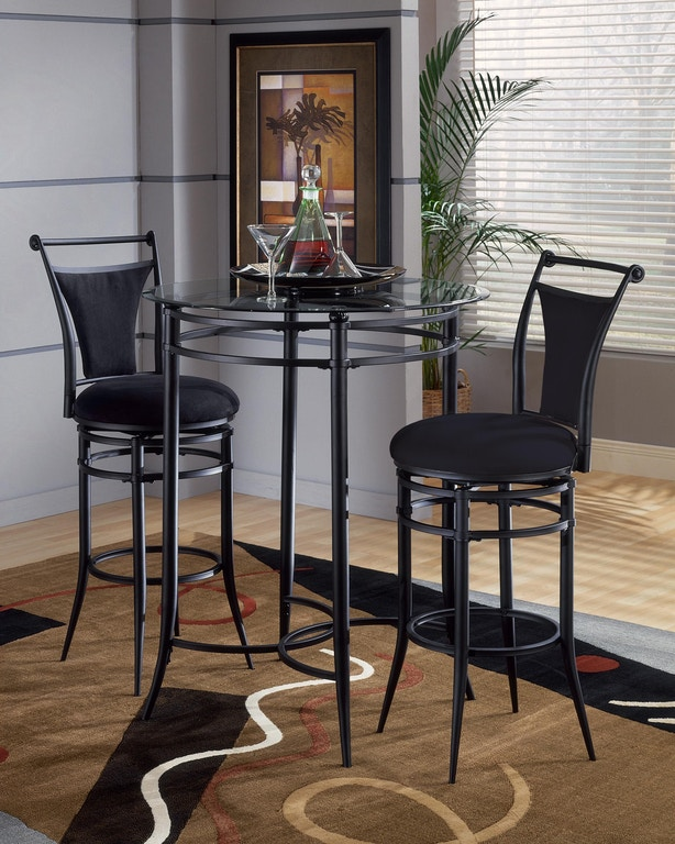 Wondrous Hillsdale Furniture Bar And Game Room Cierra 3 Piece Bistro Gmtry Best Dining Table And Chair Ideas Images Gmtryco