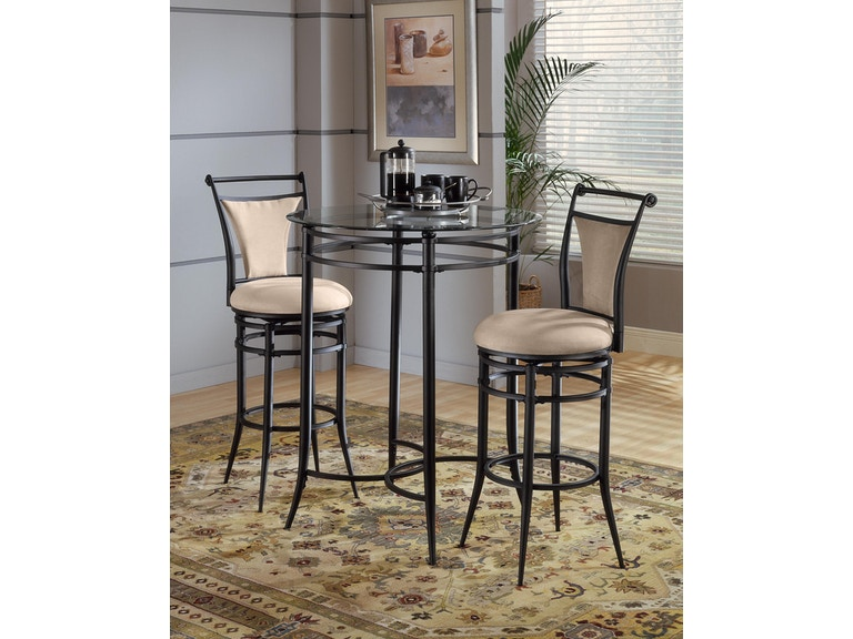 Groovy Hillsdale Furniture Bar And Game Room Cierra 3 Piece Bistro Gmtry Best Dining Table And Chair Ideas Images Gmtryco