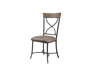Hillsdale Furniture Charleston X-Back Dining Chair - Set of 2 4670-802