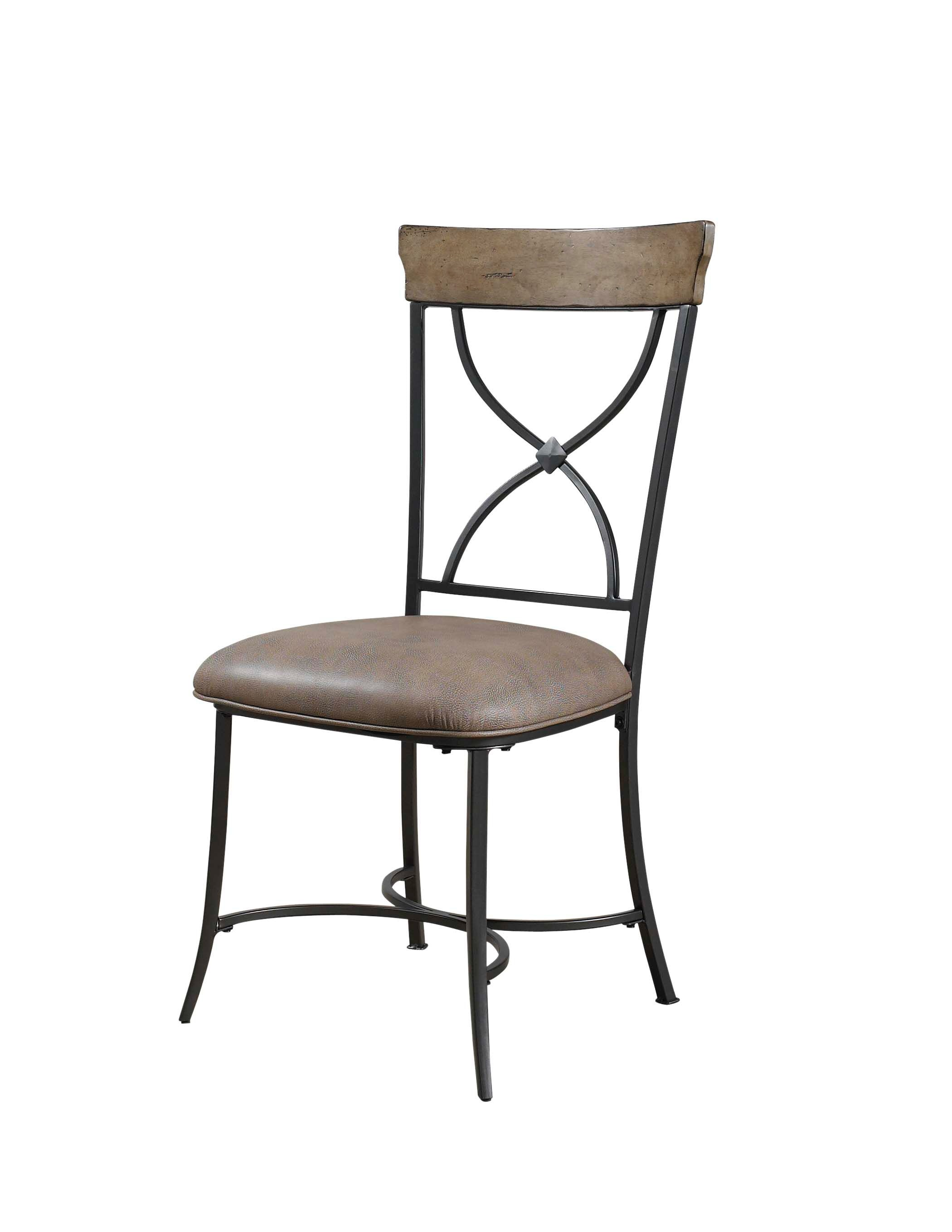 Hillsdale Furniture Charleston X Back Dining Chair   Set Of 2 4670 802