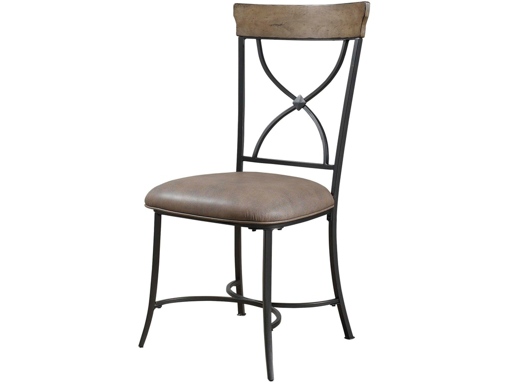 Hillsdale furniture dining room charleston x back dining for X back dining room chairs