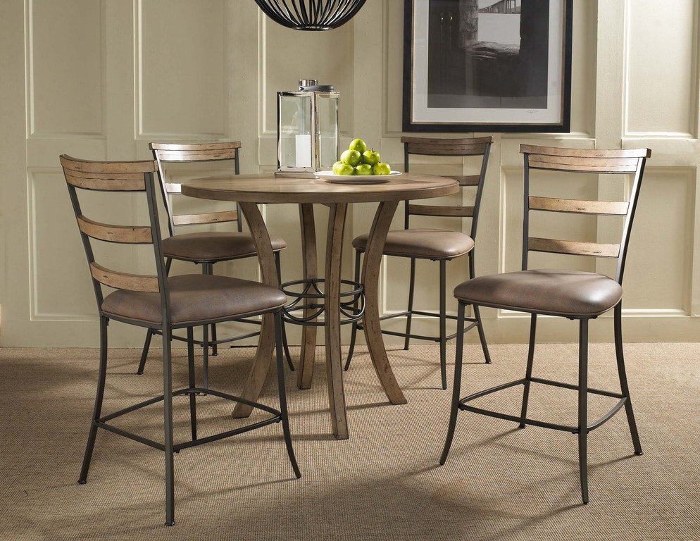 Astounding Hillsdale Furniture Bar And Game Room Charleston 5 Piece Machost Co Dining Chair Design Ideas Machostcouk