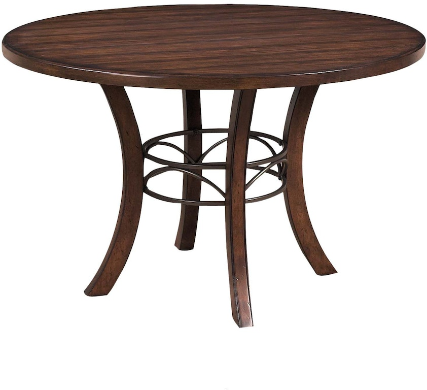 Hillsdale Furniture Dining Room Cameron Round Wood Dining