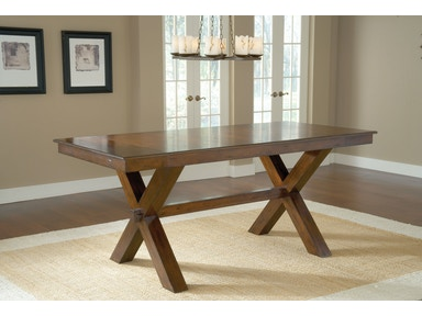 Hillsdale Furniture Park Avenue Counter Height Trestle Table 4692CTB