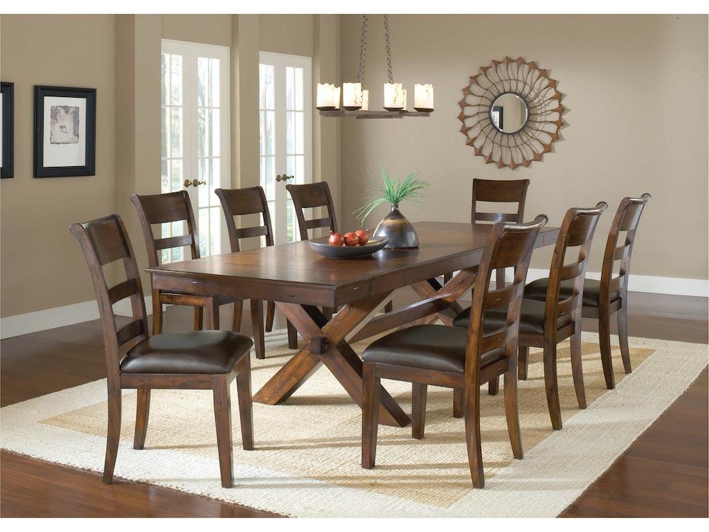 Hillsdale Furniture Dining Room Park Avenue 9 Piece Dining Set ...