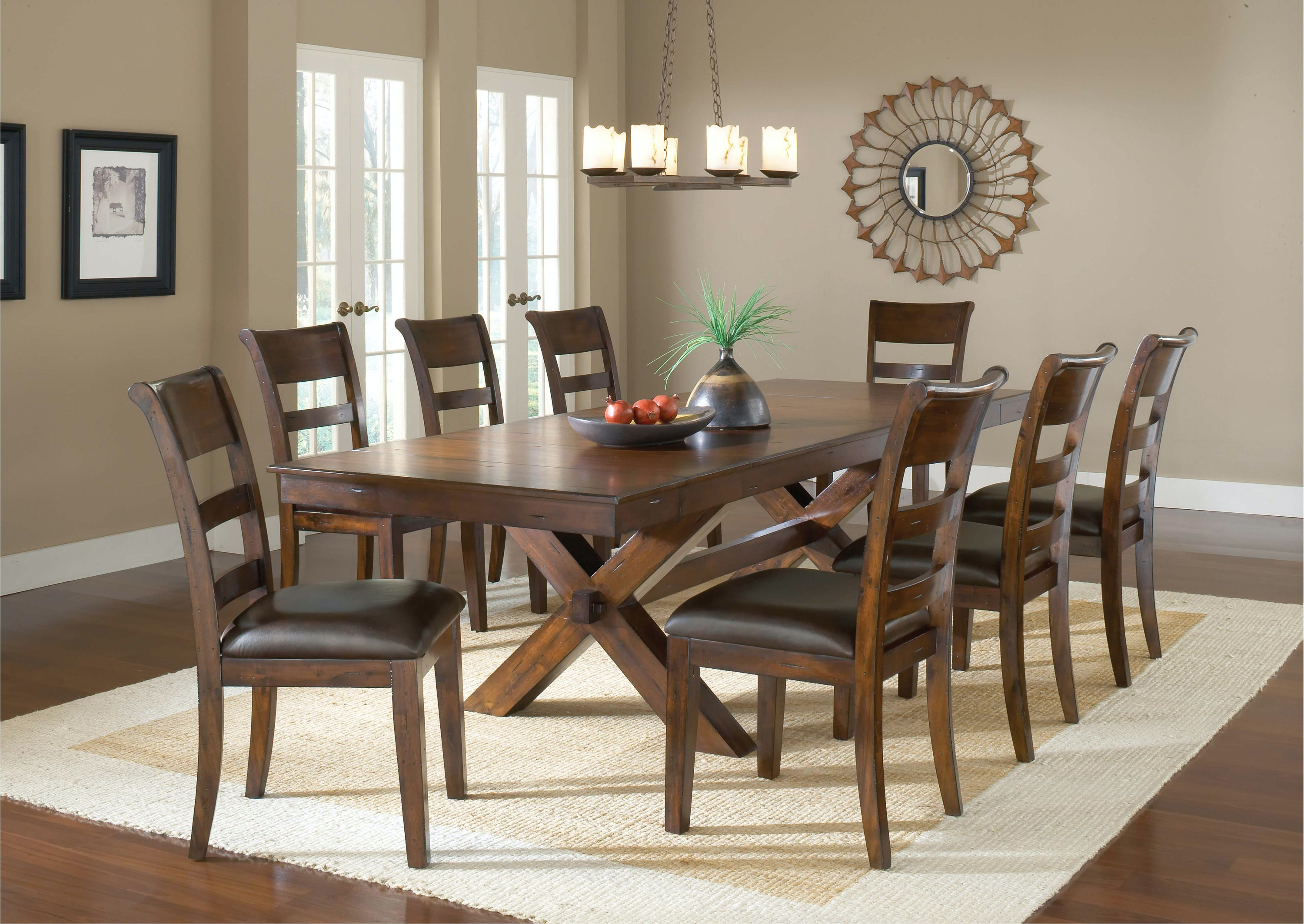 Hillsdale Furniture Park Avenue 9 Piece Dining Set 4692DTBC9