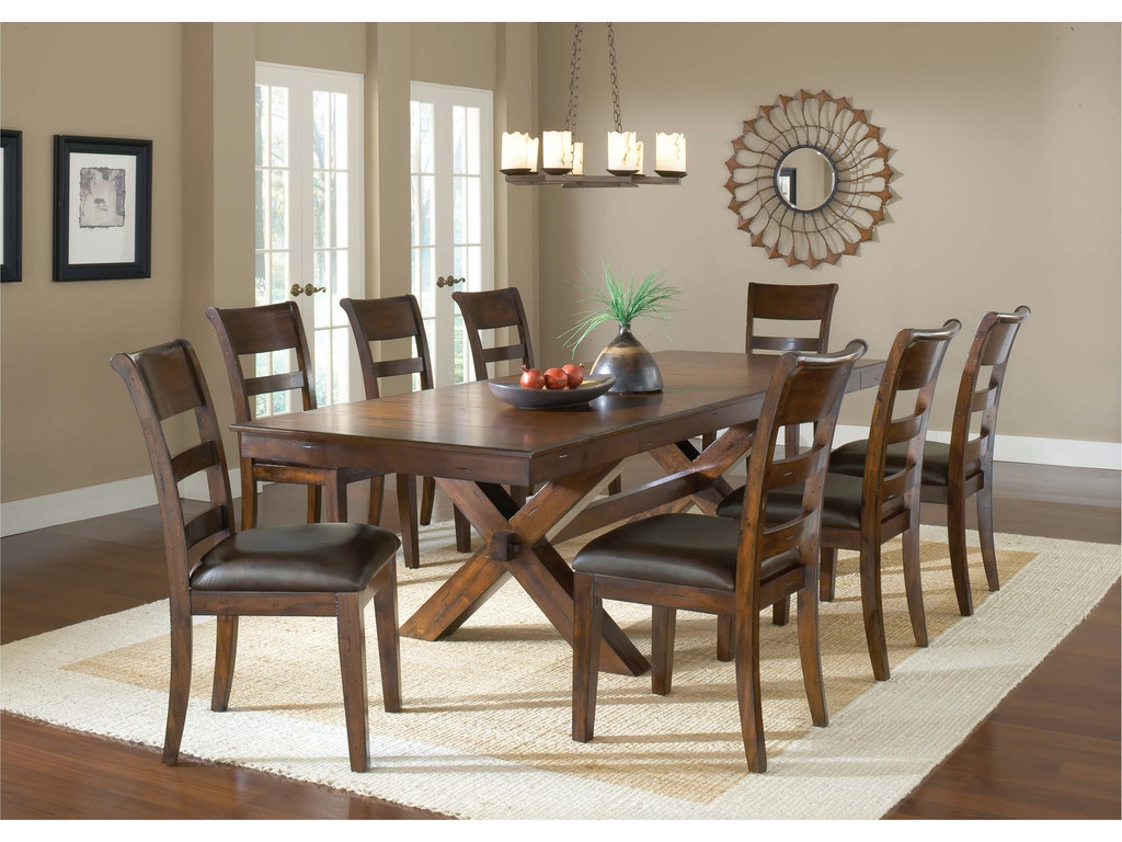 Hillsdale Furniture Dining Room Park Avenue 9 Piece Dining