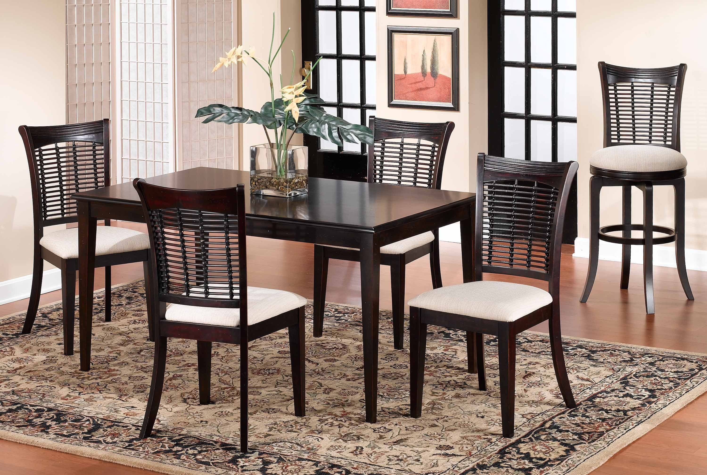 4783DTBCRCT. Bayberry 5 Piece Rectangle Dining Set ...