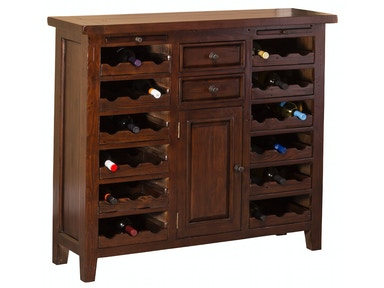 Hillsdale Furniture Tuscan Retreat ® Wine Console/Storage Unit 4793-948W
