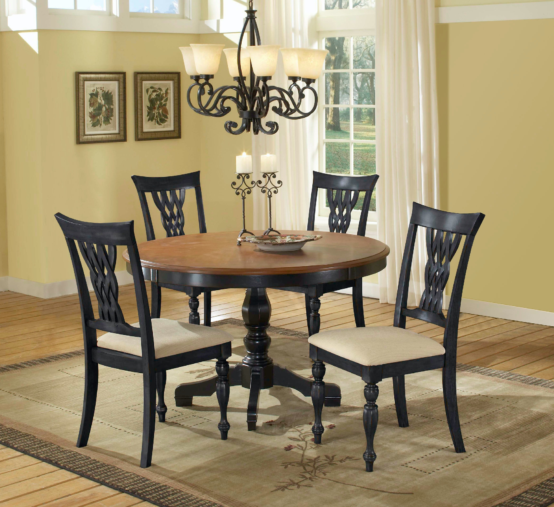 Hillsdale Furniture Embassy Five Piece Dining Set Wendell S