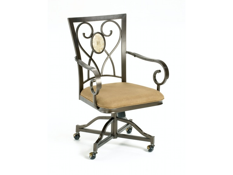 brookside oval caster chairs set of 2 hil4815804