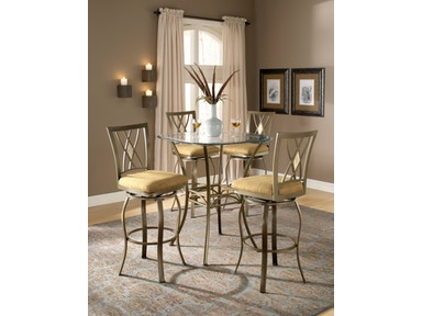 Hillsdale Furniture Brookside Bar Height Bistro Table - Base 4815-840