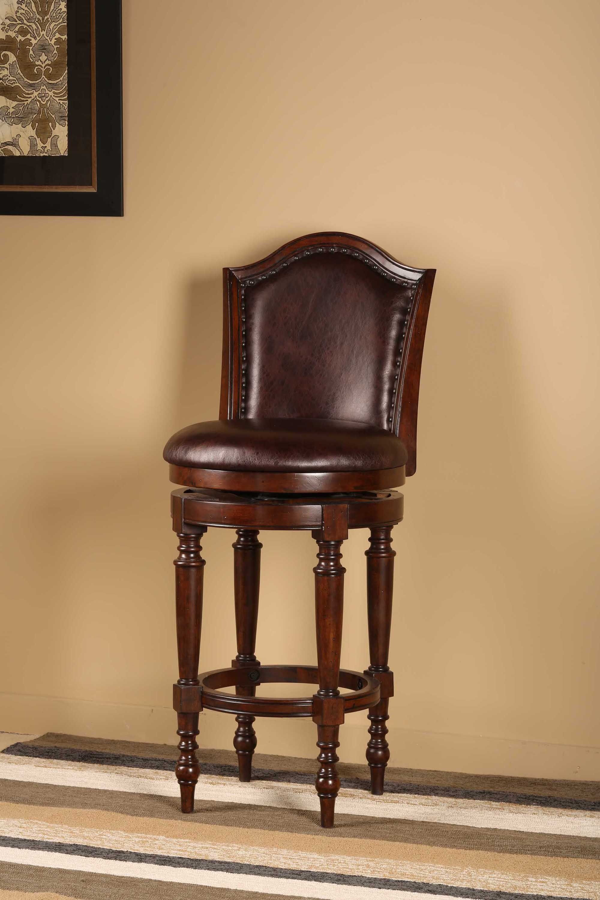 Hillsdale Furniture Bar And Game Room Barcelona Swivel Bar