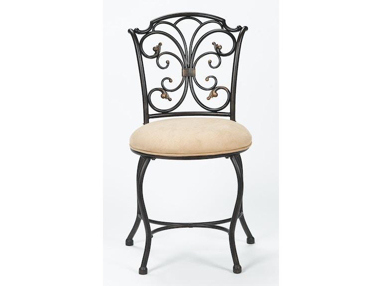 Hillsdale Furniture Bedroom Sparta Vanity Stool 50833H ...