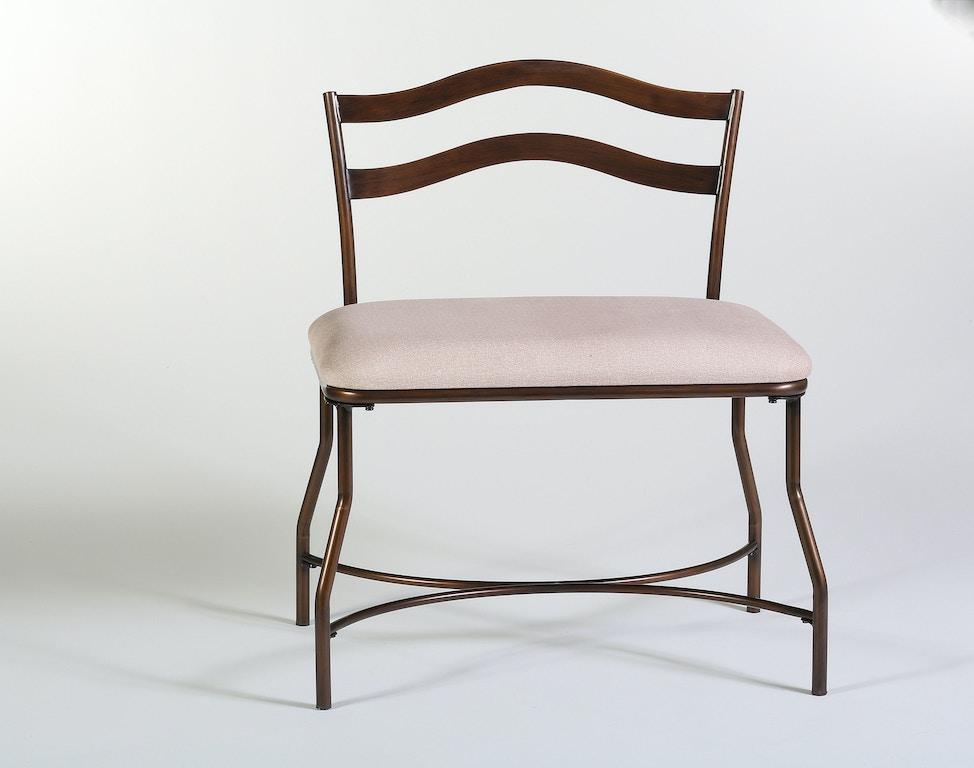 Hillsdale Furniture Bedroom Windsor Vanity Bench 50939 Norwood Furniture
