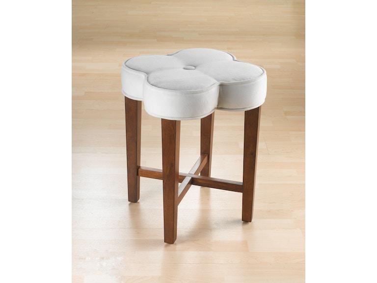 Hillsdale Furniture Bedroom Clover Vanity Stool 50958 ...