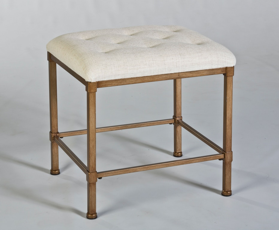 Peachy Hillsdale Furniture Bedroom Katherine Backless Vanity Stool Dailytribune Chair Design For Home Dailytribuneorg