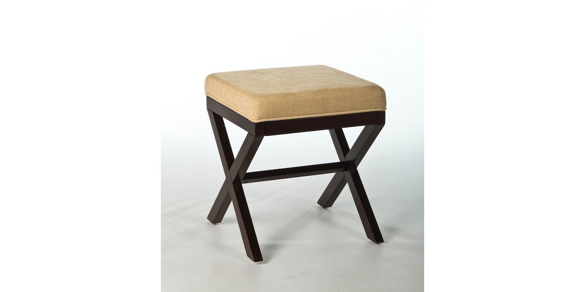 Hillsdale Furniture Bedroom Morgan Wood Vanity Stool 50964 T H Perkins Furniture Brookhaven