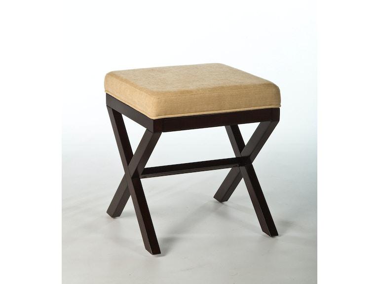 Hillsdale Furniture Bedroom Morgan Wood Vanity Stool 50964 ...