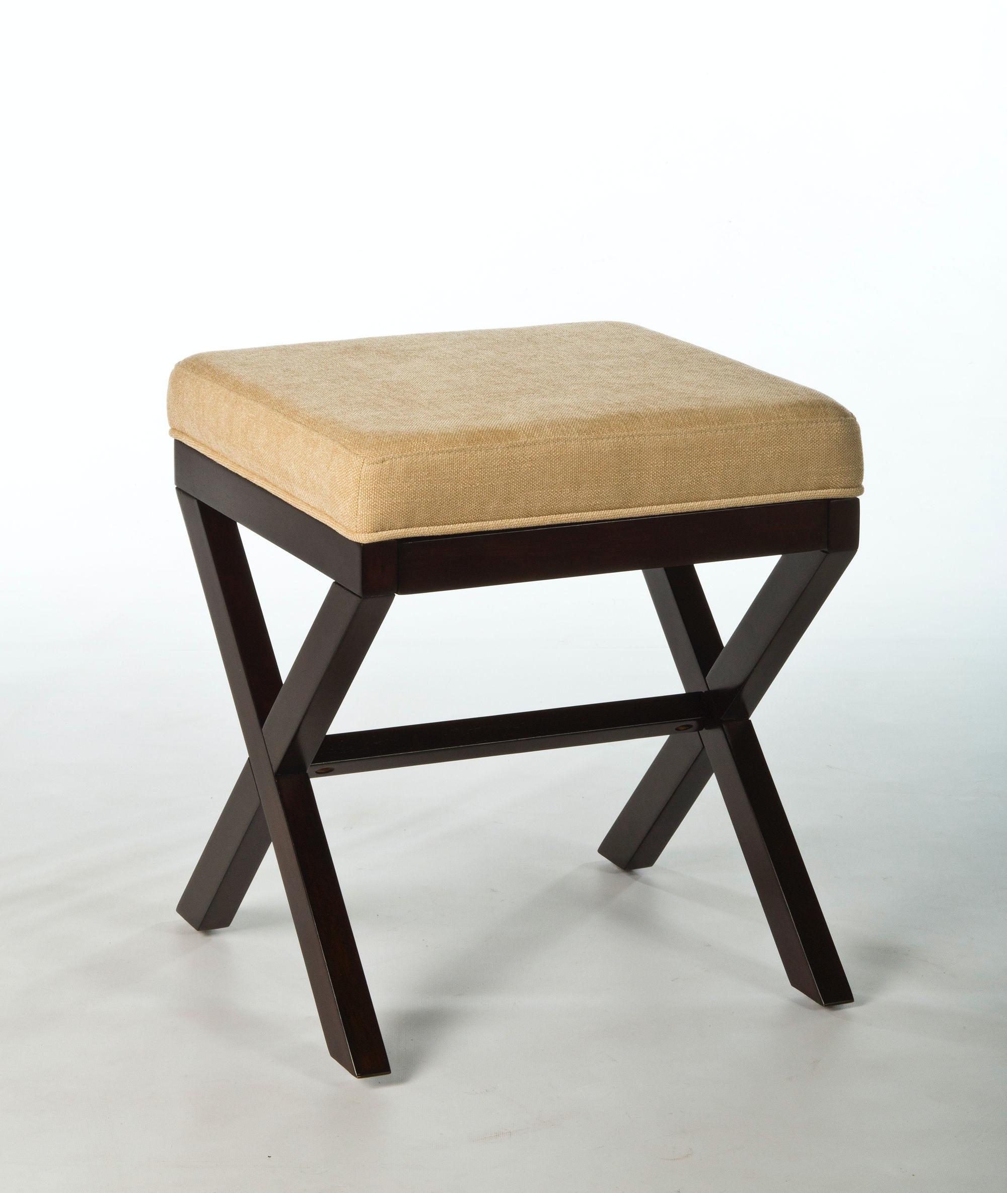Hillsdale Furniture Bedroom Morgan Wood Vanity Stool 50964