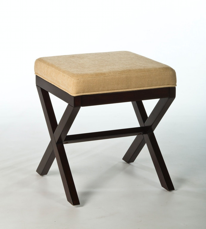 Hillsdale Furniture Bedroom Morgan Wood Vanity Stool 50964