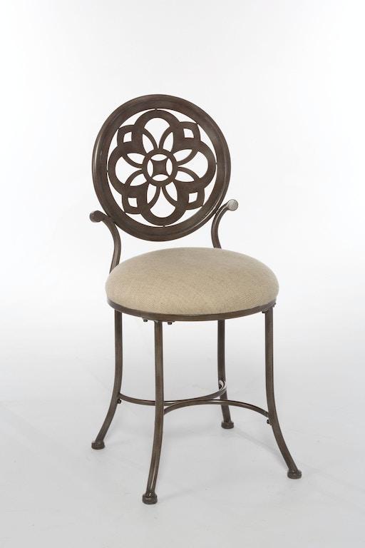 Hillsdale Furniture Bedroom Marsala Vanity Stool 50981 ...