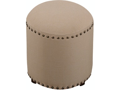Hillsdale Furniture Laura Backless Vanity Stool - Cream Fabric 50992