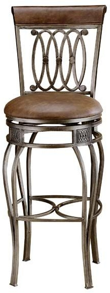 Hillsdale Furniture Bar And Game Room Montello Swivel Bar