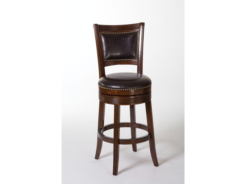 Hillsdale Furniture Bar And Game Room Lockefield Swivel Counter Stool 5221 827a Kettle River
