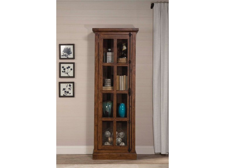 Hilale Furniture Living Room Tuscan Retreat Tall Single Door Cabinet 5225 1064w At Weiss Company