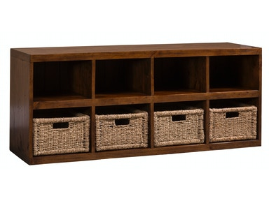Hillsdale Furniture Tuscan Retreat ® Storage Cube with Baskets 5225-962W