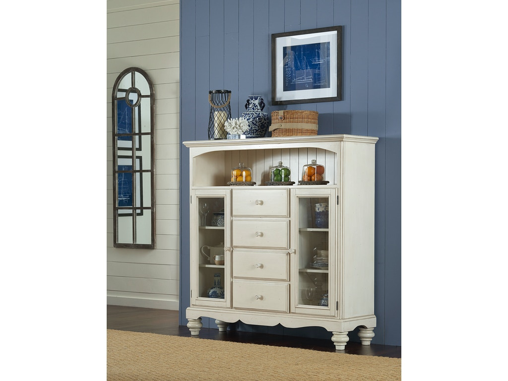 Hillsdale furniture accessories pine island four drawer for Affordable furniture in baker