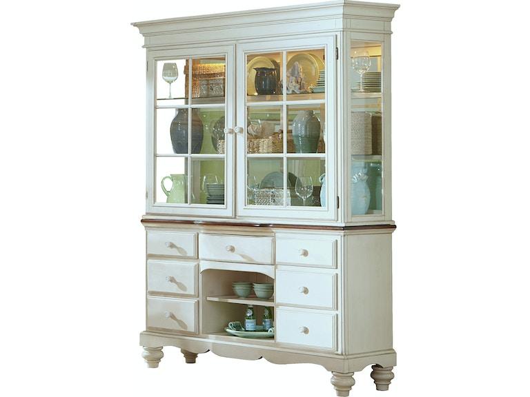 Hillsdale Furniture Pine Island Buffet And Hutch