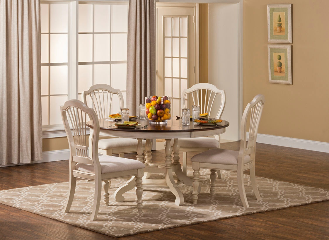 Hillsdale Furniture Dining Room Pine Island Wheat Back Side Chair   Set Of  2 5265 801 At Daws Home Furnishings
