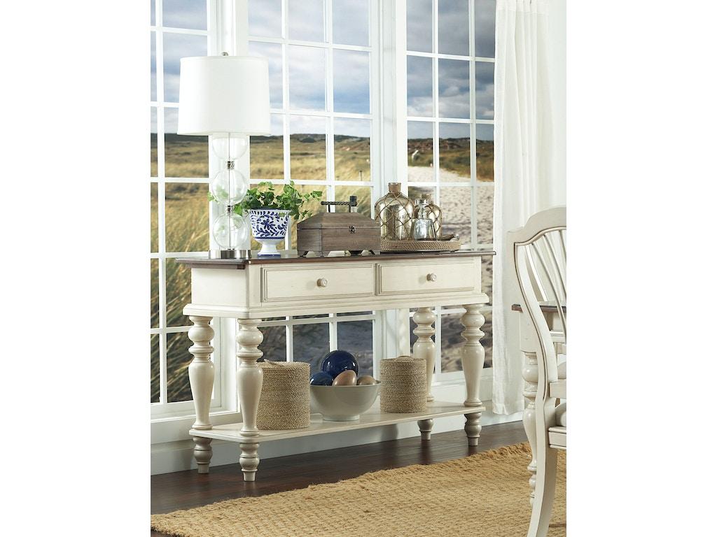 Hillsdale furniture living room pine island sideboard for Island living room furniture