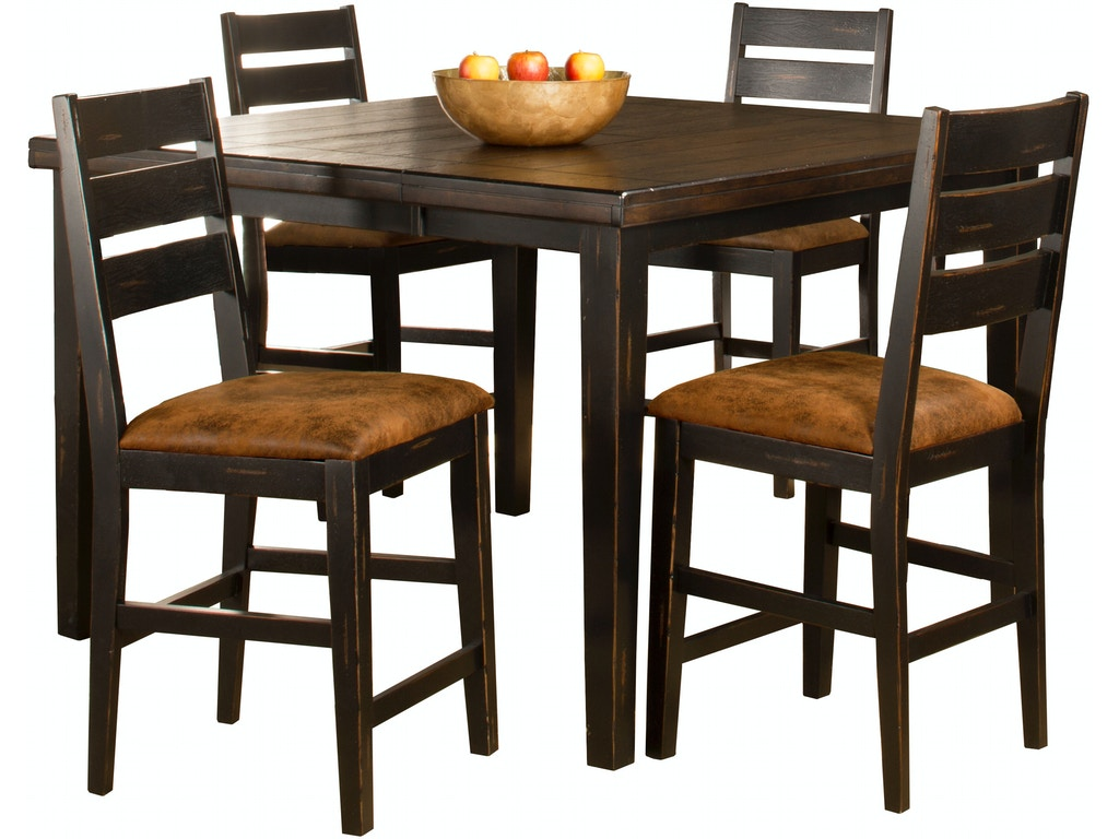 Hillsdale furniture bar and game room killarney 5 piece for Furniture quiz